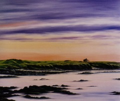 Commissioned Oil painting of Turnberry Golf Course