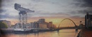 Original Oil Painting - Finnieston Crane Glasgow